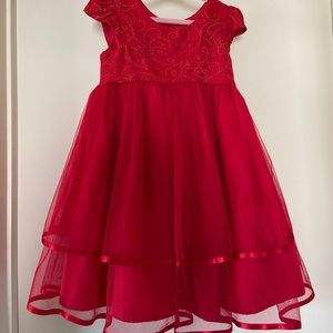 Other - Little girl red dress